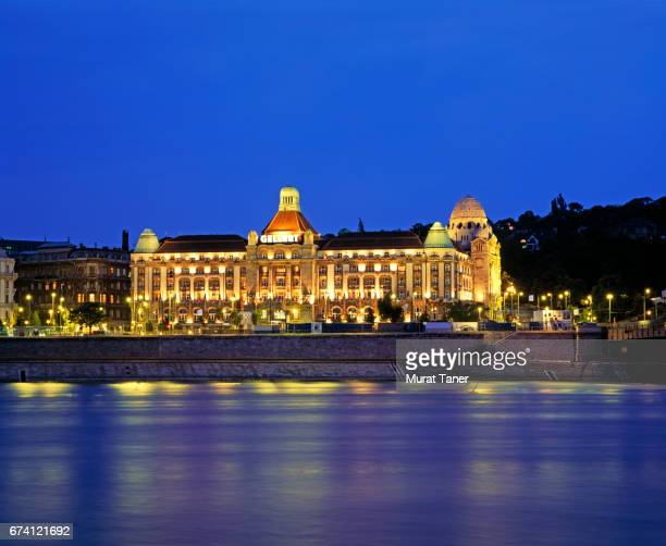 Gellert Hotel on the banks of the Danube River