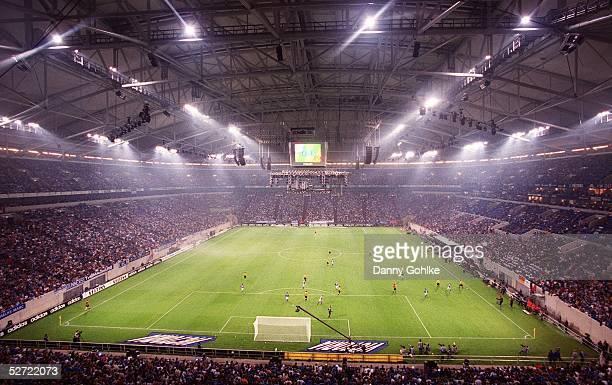 ARENA 'AUF SCHALKE' Gelsenkirchen FC SCHALKE 04 BORUSSIA DORTMUND UEBERSICHT