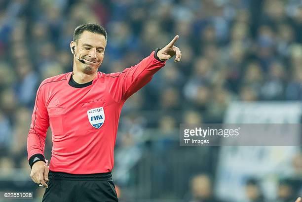 Gelsenkirchen Germany UEFA Europa League 2016/17 Season Gruppenphase 4 Spieltag Matchday 4 FC Schalke 04 FC Krasnodar Schiedsrichter Slavko Vincic