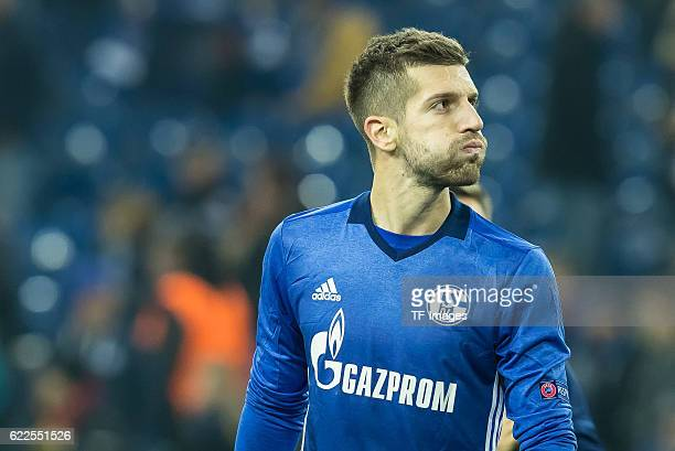 Gelsenkirchen Germany UEFA Europa League 2016/17 Season Gruppenphase 4 Spieltag Matchday 4 FC Schalke 04 FC Krasnodar Matija Nastasic