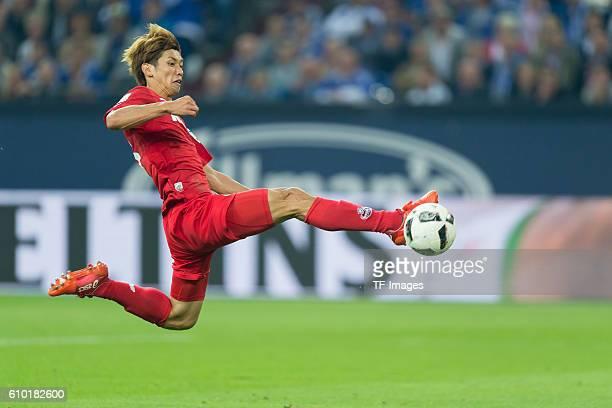 Gelsenkirchen Germany 1Bundesliga 4 Spieltag FC Schalke 04 1FC Koeln Yuya Osako