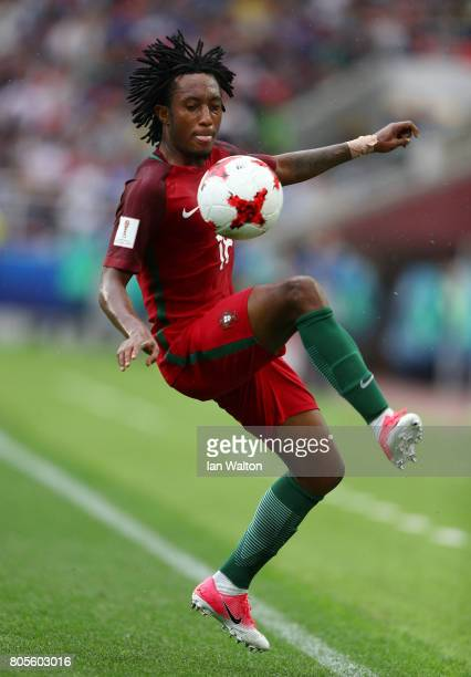 Gelson Martins of Portugal in action during the FIFA Confederations Cup Russia 2017 PlayOff for Third Place between Portugal and Mexico at Spartak...