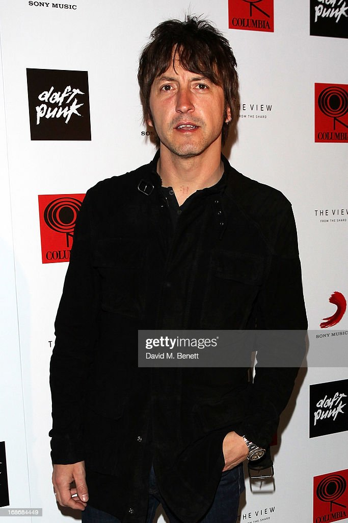 <a gi-track='captionPersonalityLinkClicked' href=/galleries/search?phrase=Gem+Archer&family=editorial&specificpeople=2237593 ng-click='$event.stopPropagation()'>Gem Archer</a> attends a listening party for Daft Punk's new album 'Random Access Memories' at The Shard on May 13, 2013 in London, England.