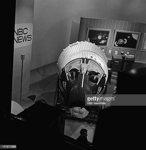 NBC NEWS Gemini VIII Launch Aired 03/16/66 Pictured Unknown during the launch of the Gemini VIII spacecraft Photo by NBC NewsWire