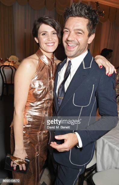 Gemma Arterton and Dominic Cooper attend Harper's Bazaar Women of the Year Awards in association with Ralph Russo Audemars Piguet and MercedesBenz at...