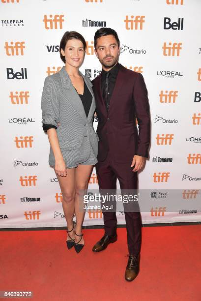 Gemma Arterton and Dominic Cooper attend 'The Escape' premiere during the 2017 Toronto International Film Festival at TIFF Bell Lightbox on September...