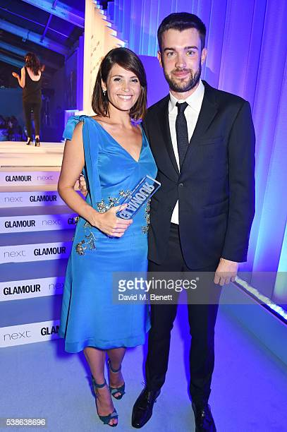 Gemma Arterton and Jack Whitehall attend the Glamour Women Of The Year Awards in Berkeley Square Gardens on June 7 2016 in London United Kingdom
