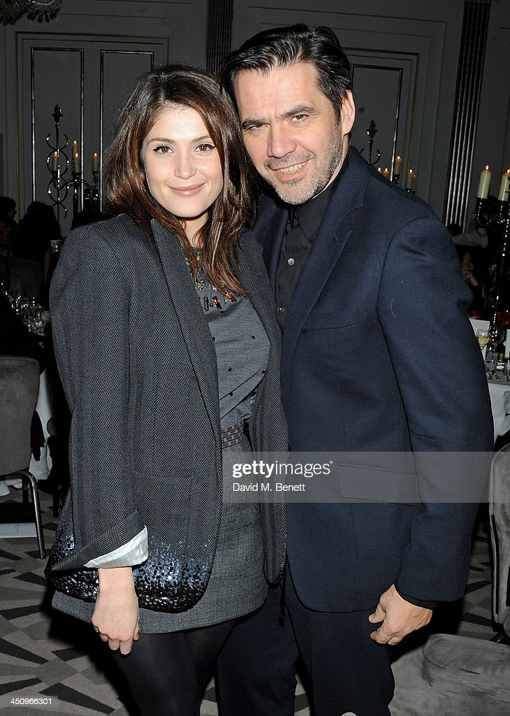 <a gi-track='captionPersonalityLinkClicked' href=/galleries/search?phrase=Gemma+Arterton&family=editorial&specificpeople=4296305 ng-click='$event.stopPropagation()'>Gemma Arterton</a> (L) and Roland Mouret attend the Isabella Blow: Fashion Galore! charity dinner hosted by the Isabella Blow Foundation at Claridges Hotel on November 19, 2013 in London, England.