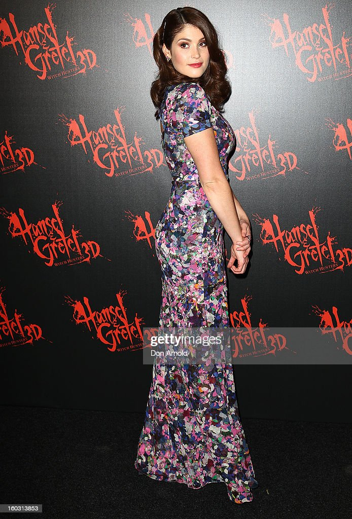 Gemma Arterton arrives at the Australian Premiere of 'Hansel & Gretel Witch Hunters' at Event Cinemas on January 29, 2013 in Sydney, Australia.