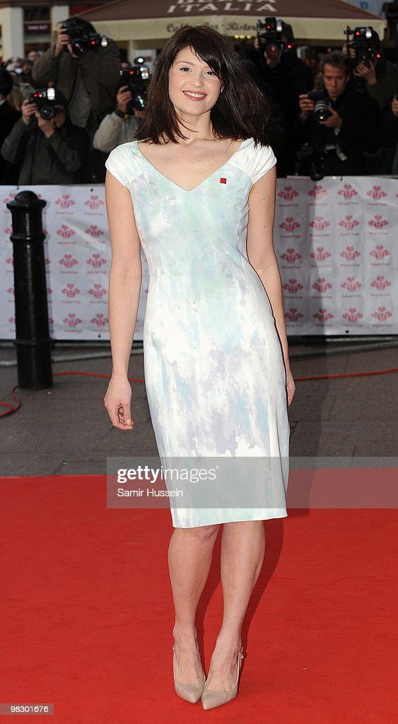 Gemma Arterton arrives at The Prince's Trust Celebrate Success Awards, at the Odeon Leicester Square on March 1, 2010 in London, England.