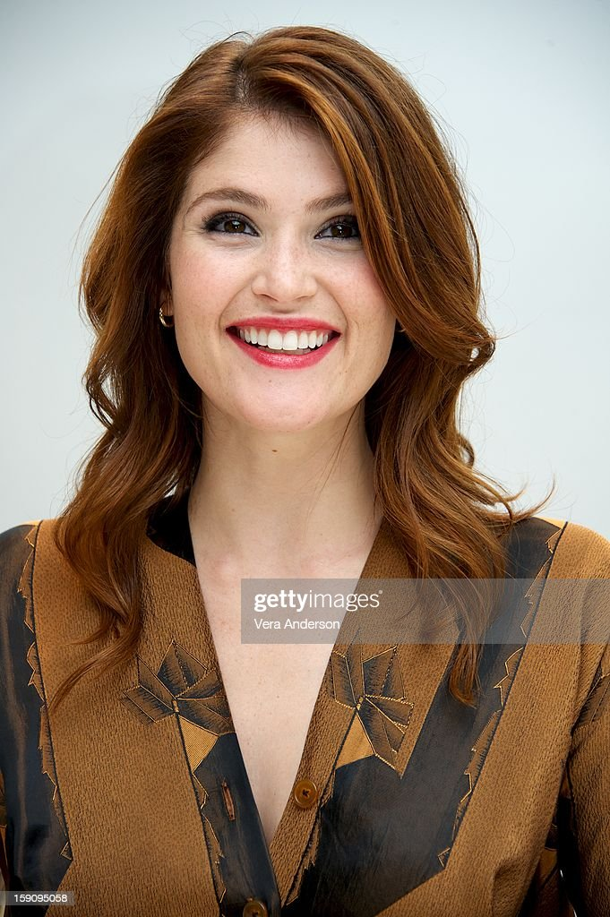 Gemma Arterton at the 'Hansel And Gretel Witch Hunters' Press Conference at the Four Seasons Hotel on January 5, 2013 in Beverly Hills, California.