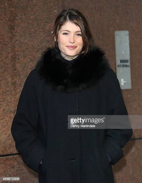 Gemma Arterton attend the Annual ICAP Charity Day at ICAP on December 3 2014 in London England