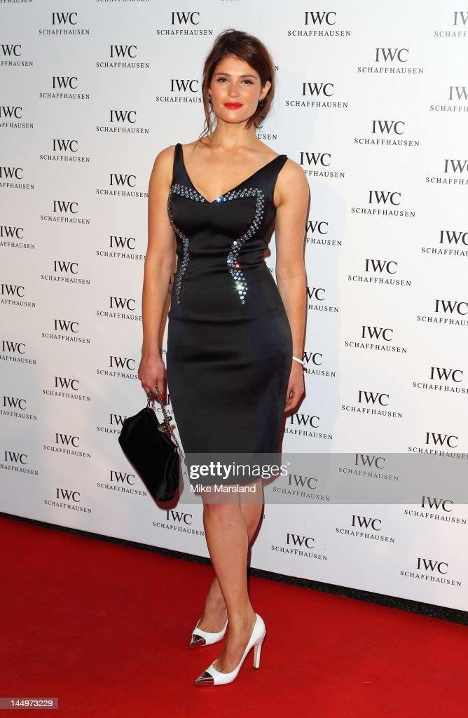 Gemma Arterton attend the IWC Filmmakers Dinner during the 65th Annual Cannes Film Festival at the Hotel Du Cap on May 21 2012 in Antibes France