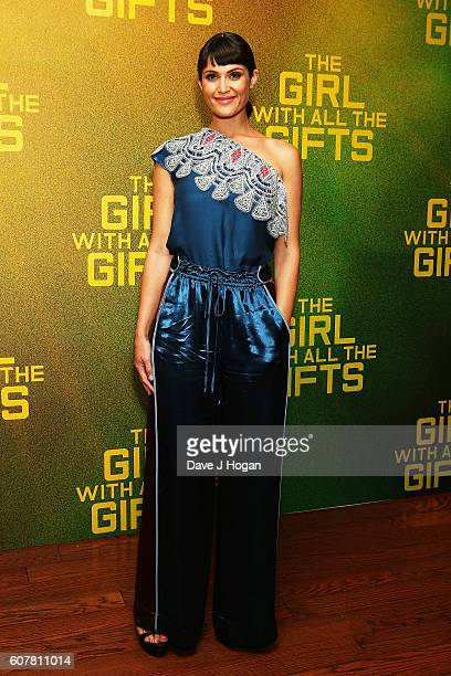 Gemma Arterton attends a special screening of 'The Girl With All The Gifts' at Vue West End on September 19 2016 in London England