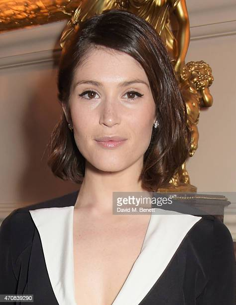 Gemma Arterton attends as Audi hosts the opening night performance of 'La Fille Mal Gardee' at The Royal Opera House on April 23 2015 in London...