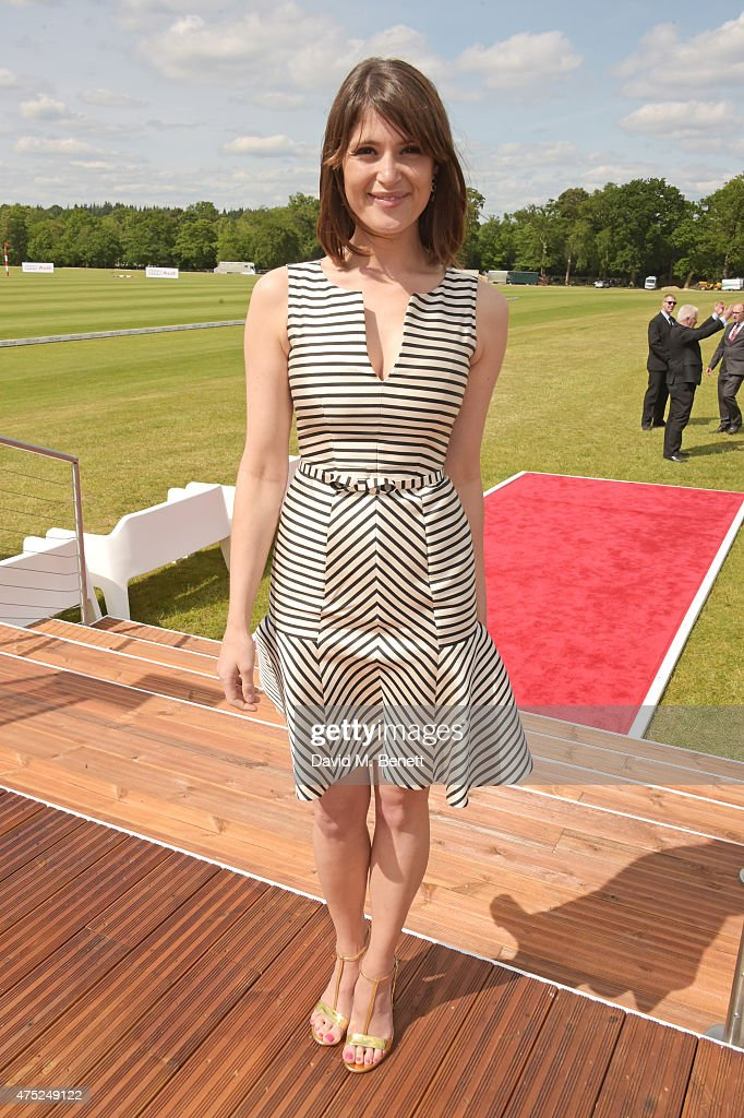 <a gi-track='captionPersonalityLinkClicked' href=/galleries/search?phrase=Gemma+Arterton&family=editorial&specificpeople=4296305 ng-click='$event.stopPropagation()'>Gemma Arterton</a> attends day one of the Audi Polo Challenge at Coworth Park on May 30, 2015 in London, England.
