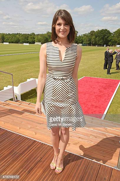 Gemma Arterton attends day one of the Audi Polo Challenge at Coworth Park on May 30 2015 in London England