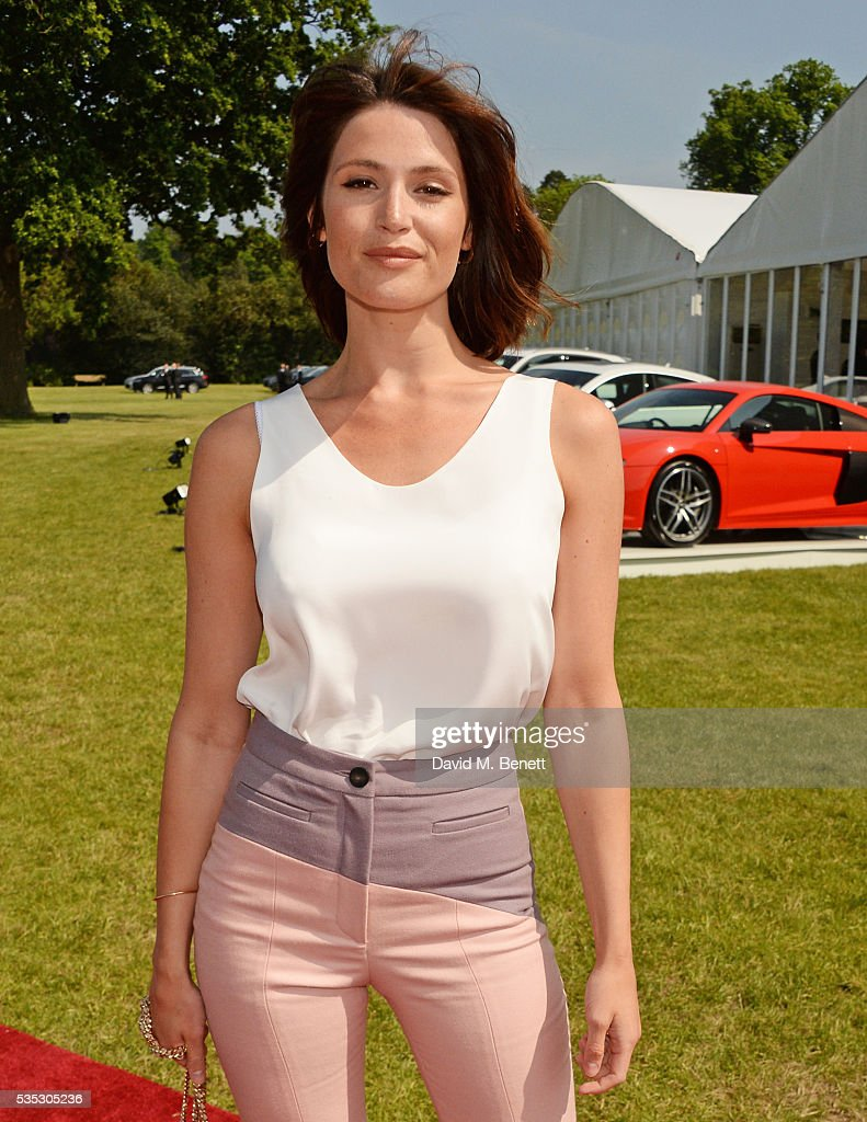 <a gi-track='captionPersonalityLinkClicked' href=/galleries/search?phrase=Gemma+Arterton&family=editorial&specificpeople=4296305 ng-click='$event.stopPropagation()'>Gemma Arterton</a> attends day two of the Audi Polo Challenge at Coworth Park on May 29, 2016 in London, England.