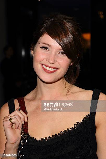 Gemma Arterton attends the 10th Birthday party for NetAPorter at Westfield on July 7 2010 in London England