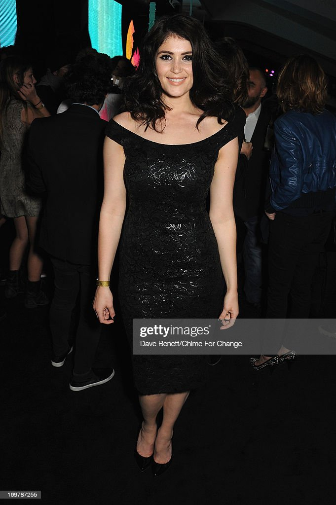 <a gi-track='captionPersonalityLinkClicked' href=/galleries/search?phrase=Gemma+Arterton&family=editorial&specificpeople=4296305 ng-click='$event.stopPropagation()'>Gemma Arterton</a> attends the after show party following the 'Chime For Change: The Sound Of Change Live' Concert at Twickenham Stadium on June 1, 2013 in London, England. Chime For Change is a global campaign for girls' and women's empowerment founded by Gucci with a founding committee comprised of Gucci Creative Director Frida Giannini, Salma Hayek Pinault and Beyonce Knowles-Carter.
