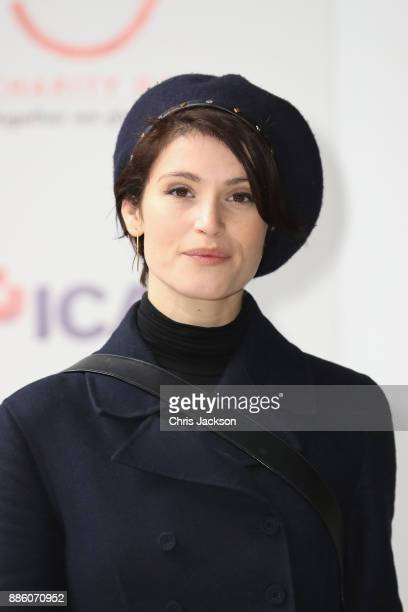Gemma Arterton attends the annual ICAP charity day at ICAP on December 5 2017 in London England