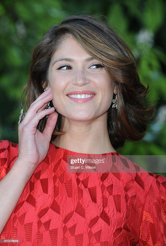 Gemma Arterton attends the annual Serpentine Galley Summer Party at The Serpentine Gallery on July 1, 2014 in London, England.