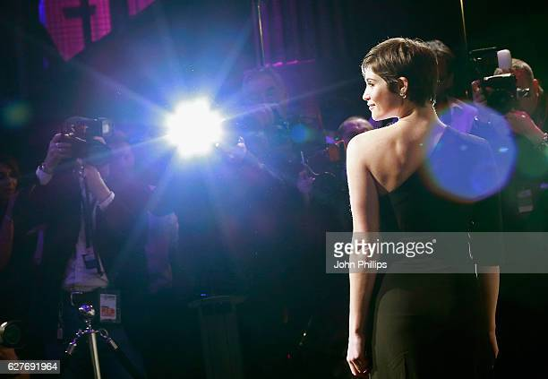 Gemma Arterton attends The British Independent Film Awards at Old Billingsgate Market on December 4 2016 in London England