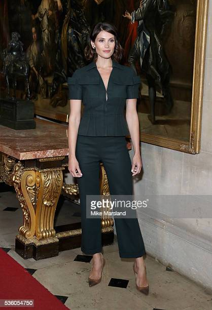 Gemma Arterton attends the Christian Dior Spring Summer 2017 Cruise Collection at Blenheim Palace on May 31 2016 in Woodstock England