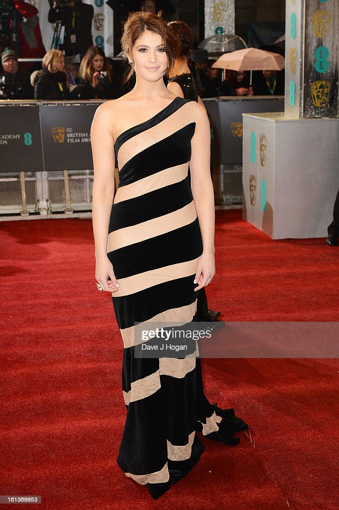Gemma Arterton attends The EE British Academy Film Awards 2013 at The Royal Opera House on February 10, 2013 in London, England.
