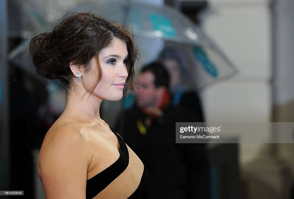 Gemma Arterton attends the EE British Academy Film Awards at The Royal Opera House on February 10, 2013 in London, England.