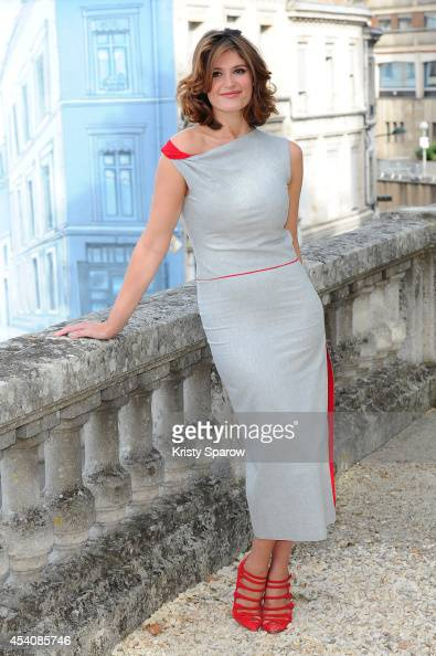 Gemma Arterton attends the 'Gemma Bovery' Photocall at Hotel Mercure during the 7th Angouleme FrenchSpeaking Film Festival on August 24 2014 in...
