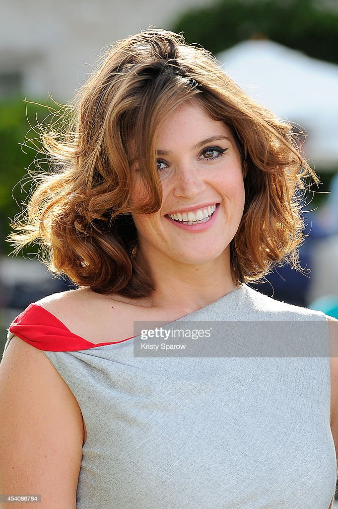 Gemma Arterton attends the 'Gemma Bovery' Photocall at Hotel Mercure during the 7th Angouleme French-Speaking Film Festival on August 24, 2014 in Angouleme, France.