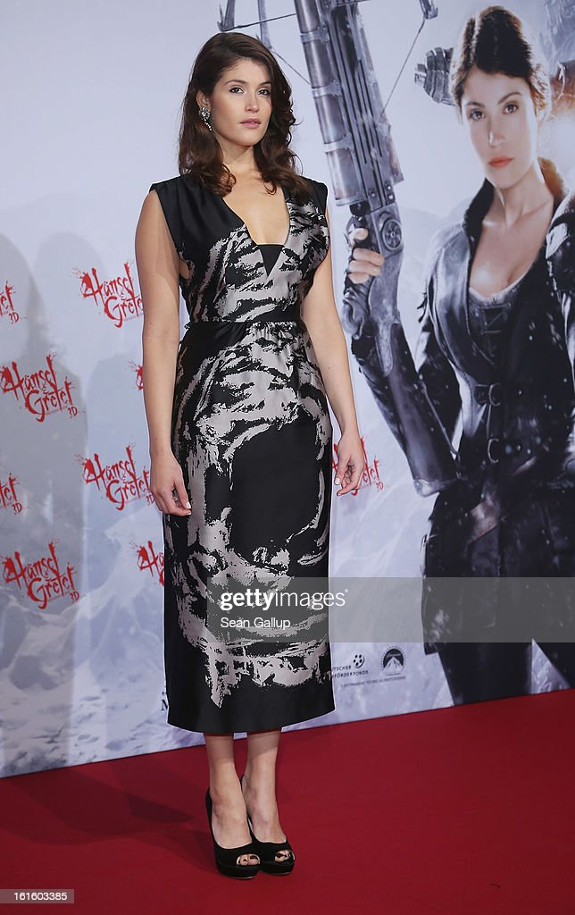Gemma Arterton attends the German premiere of 'Hansel and Gretel Witch Hunters' at the Kulturbrauerei on February 12 2013 in Berlin Germany