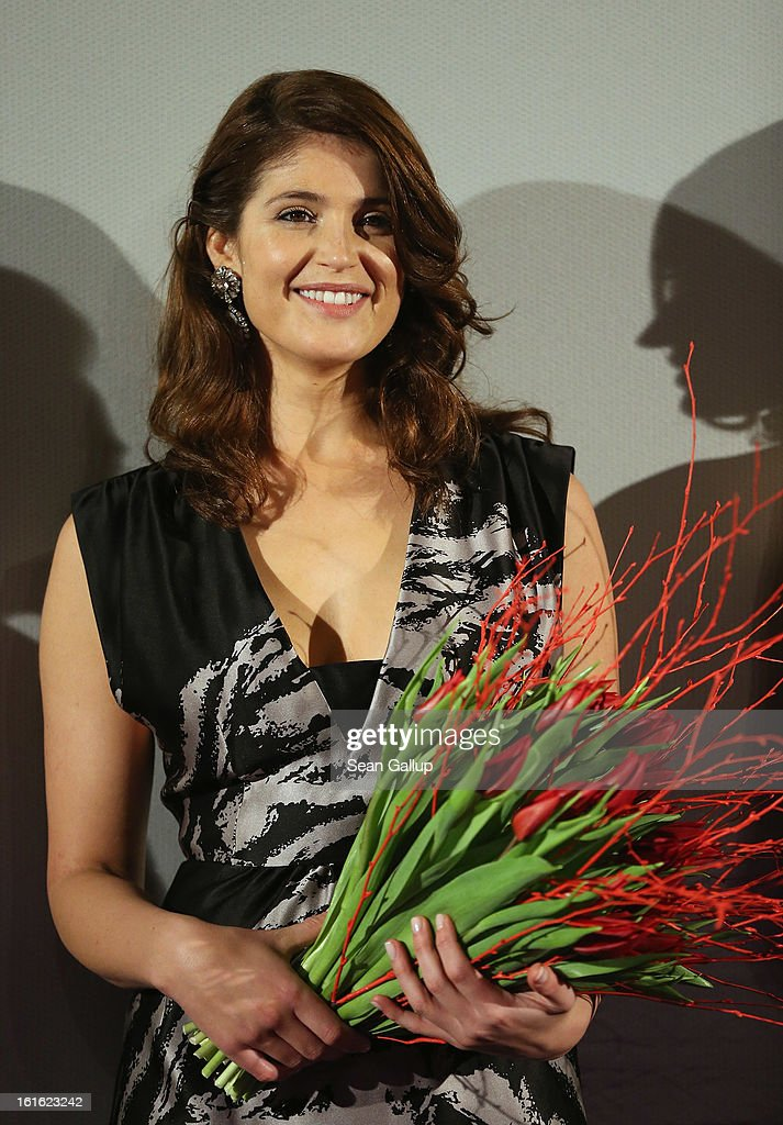 Gemma Arterton attends the German premiere of 'Hansel and Gretel: Witch Hunters' at the Kulturbrauerei on February 12, 2013 in Berlin, Germany.