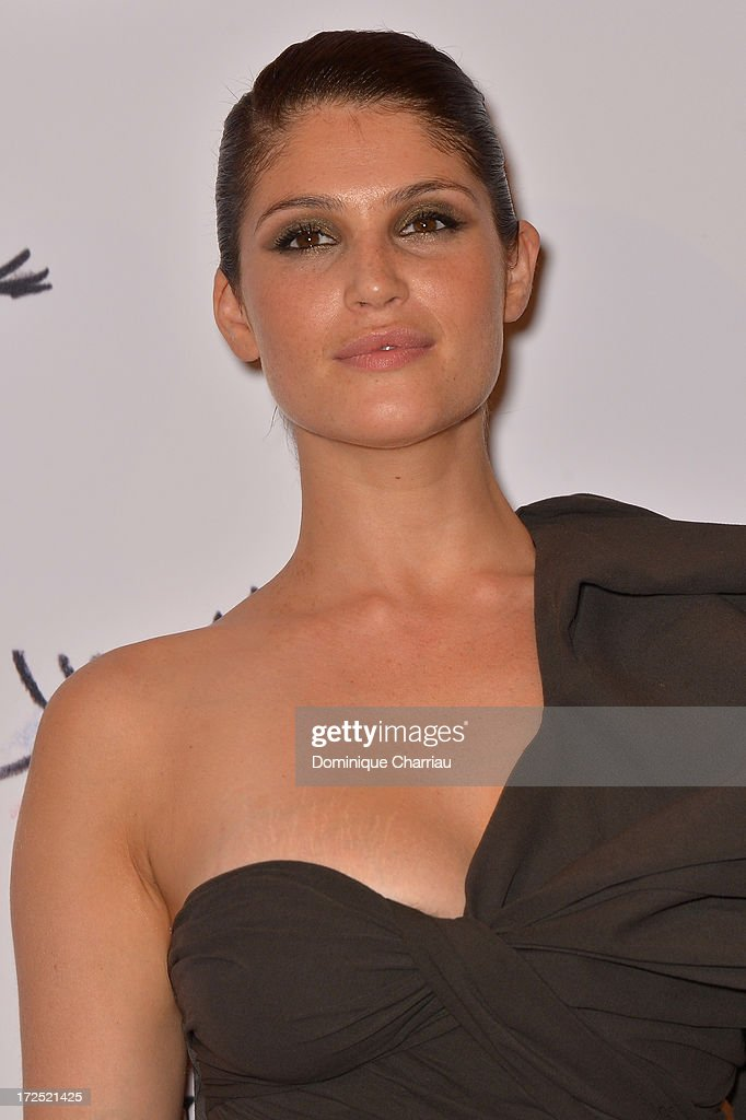 <a gi-track='captionPersonalityLinkClicked' href=/galleries/search?phrase=Gemma+Arterton&family=editorial&specificpeople=4296305 ng-click='$event.stopPropagation()'>Gemma Arterton</a> attends the 'Lancome Show By Alber Elbaz' Party at Le Trianon on July 2, 2013 in Paris, France.
