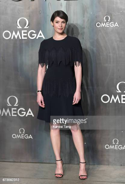 Gemma Arterton attends the Lost In Space event to celebrate the 60th anniversary of the OMEGA Speedmaster at the Tate Modern on April 26 2017 in...