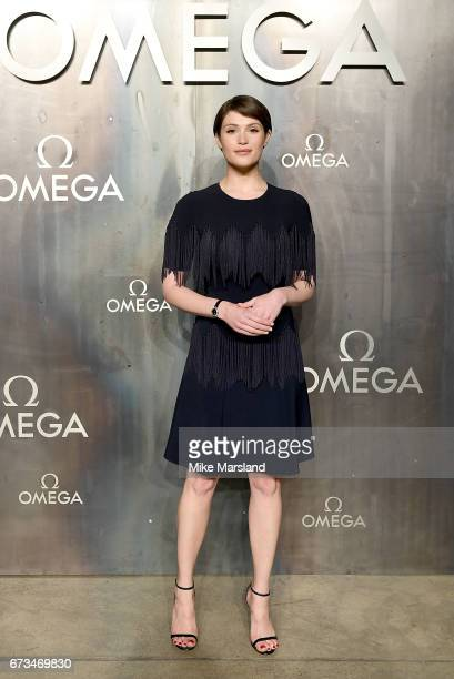 Gemma Arterton attends the OMEGA 'Lost In Space' dinner to celebrate the 60th anniversary of the OMEGA Speedmaster which has been worn by every...
