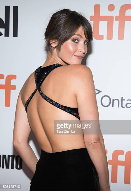 Gemma Arterton attends the premiere of 'Their Finest' for the 2016 Toronto International Film Festival at Roy Thomson Hall on September 11 2016 in...