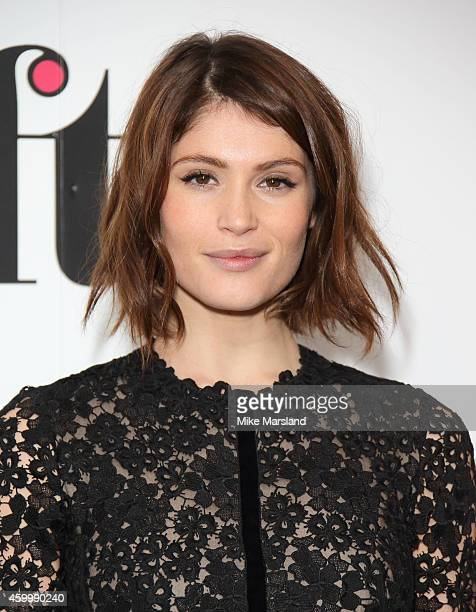 Gemma Arterton attends the Sky Women In Film and TV Awards at London Hilton on December 5 2014 in London England
