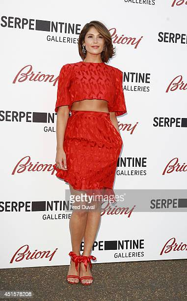 Gemma Arterton attends the The Serpentine Gallery summer party at The Serpentine Gallery on July 1 2014 in London England
