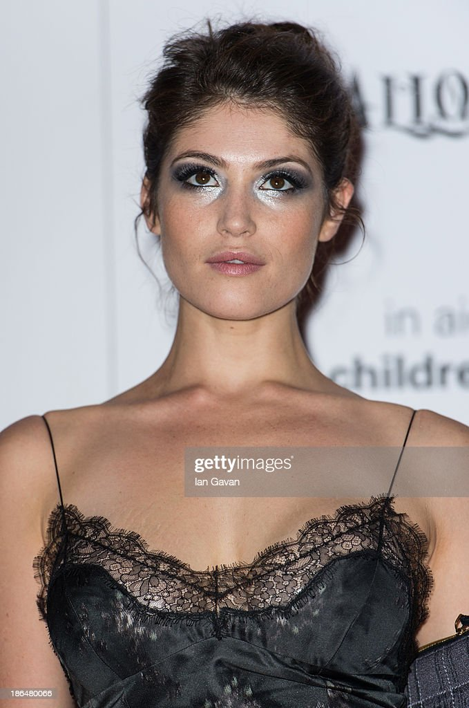 Gemma Arterton attends The UNICEF Halloween Ball at One Mayfair on October 31, 2013 in London, England.