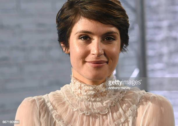 Gemma Arterton during a Build LDN live interview at AOL London on April 11 2017 in London England
