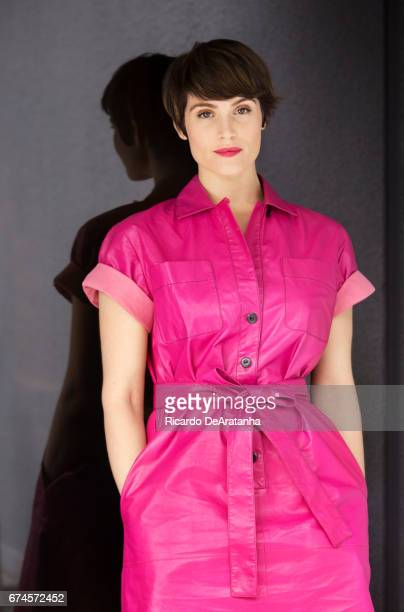 Gemma Arterton is photographed for Los Angeles Times on April 7 2017 in Los Angeles California PUBLISHED IMAGE CREDIT MUST READ Ricardo...