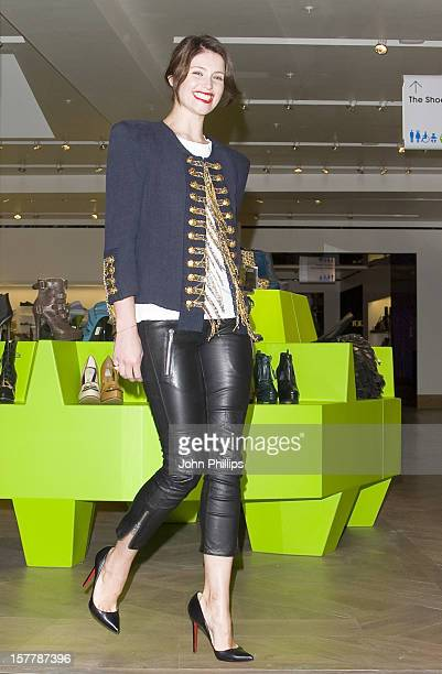 Gemma Arterton Launches The Shoe Galleries At Selfridges Oxford Street London