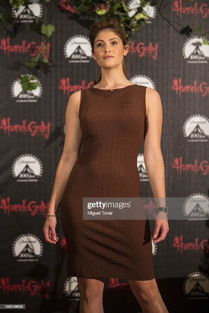 Gemma Arterton pose for the 'Hansel and Gretel: Witch Hunters' photocall at St. Regis Hotel on January 10, 2013 in Mexico City, Mexico.