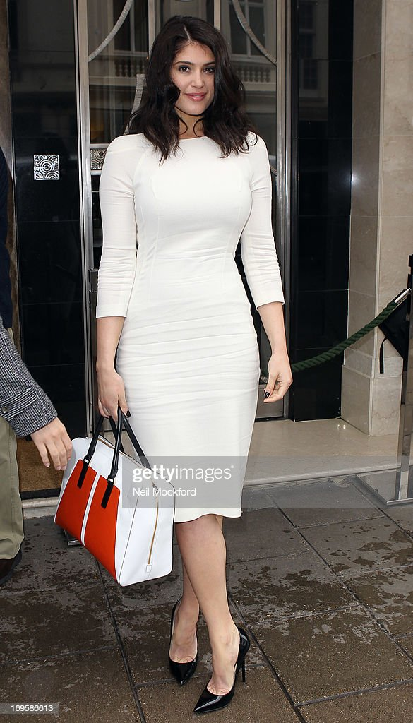 Gemma Arterton seen at Claridges on May 28, 2013 in London, England.