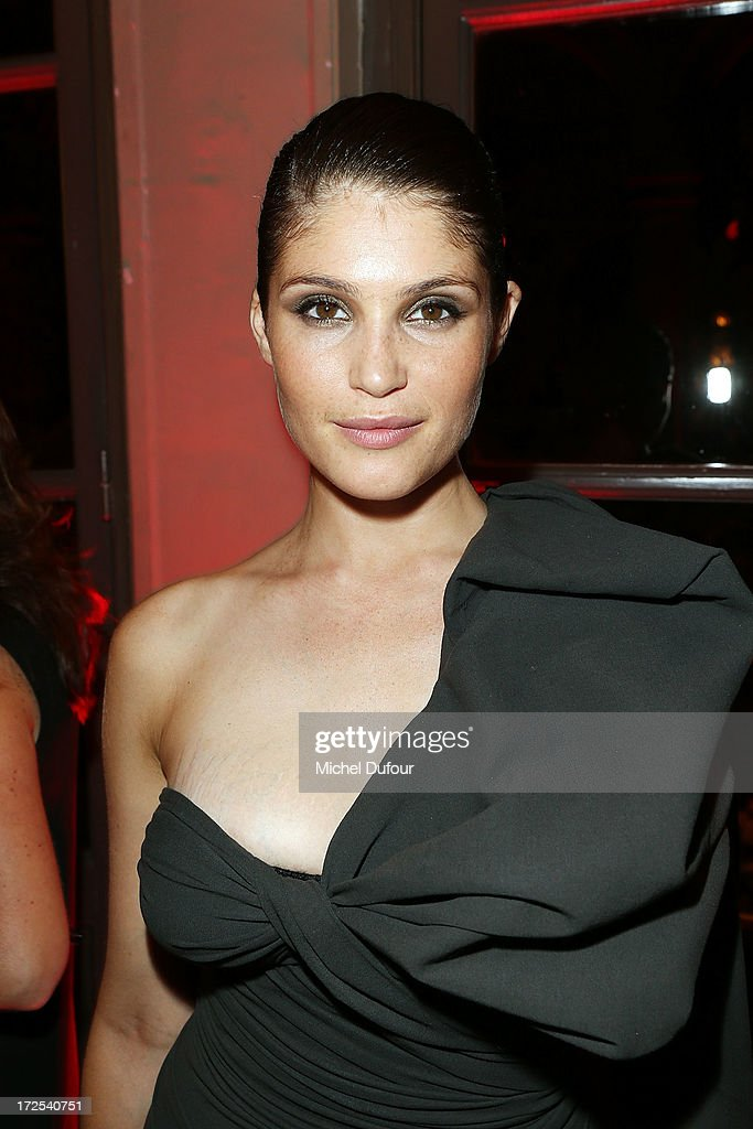 Gemma Aterton attends the 'Lancome Show by Alber Elbaz' at Le Trianon on July 2, 2013 in Paris, France.