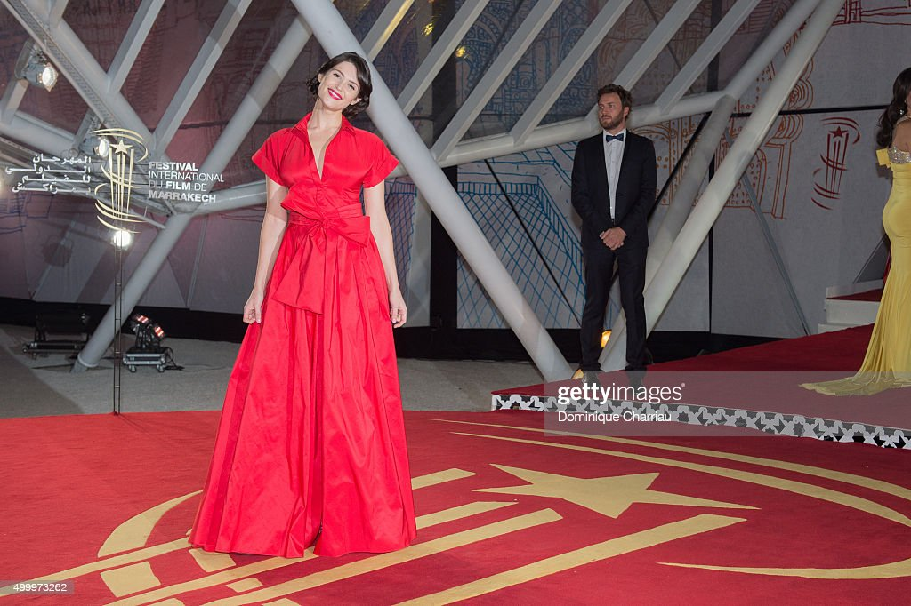 Gemma Aterton attends the Opening Ceremony of the15th Marrakech International Film Festival on December 4 2015 in Marrakech Morocco