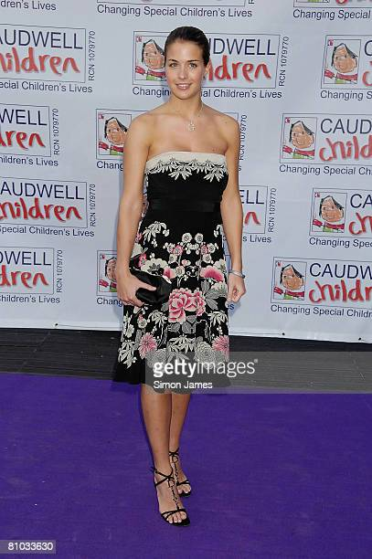Gemma Atkinson arrives for the Caudwell Children 'The Legends Ball' at Battersea Evolution on May 8 2008 in London England
