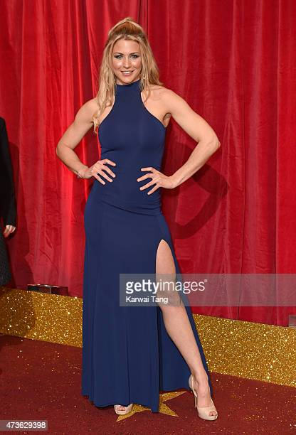 Gemma Atkinson attends the British Soap Awards at Manchester Palace Theatre on May 16 2015 in Manchester England